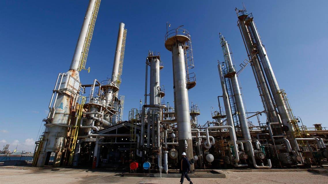 Oilfield Lubya Brega Reuters