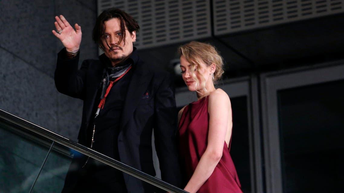 Johnny Depp weds (Reuters)