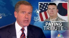 U.S. anchor Brian Williams recants on coming under fire in Iraq