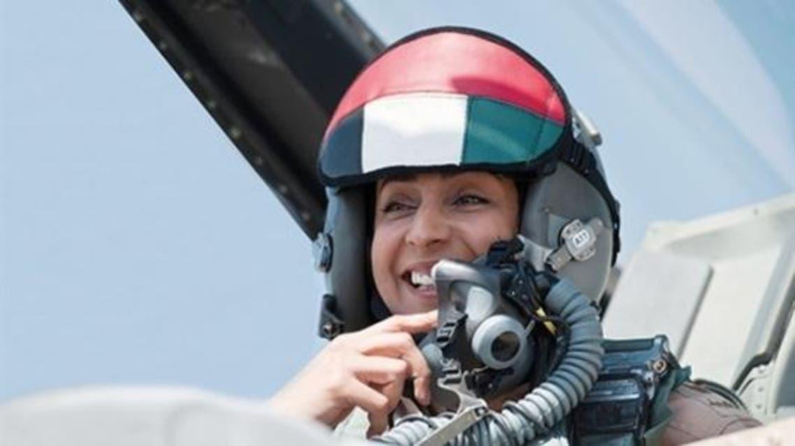 الطيارة الاماراتية مريم المنصوري