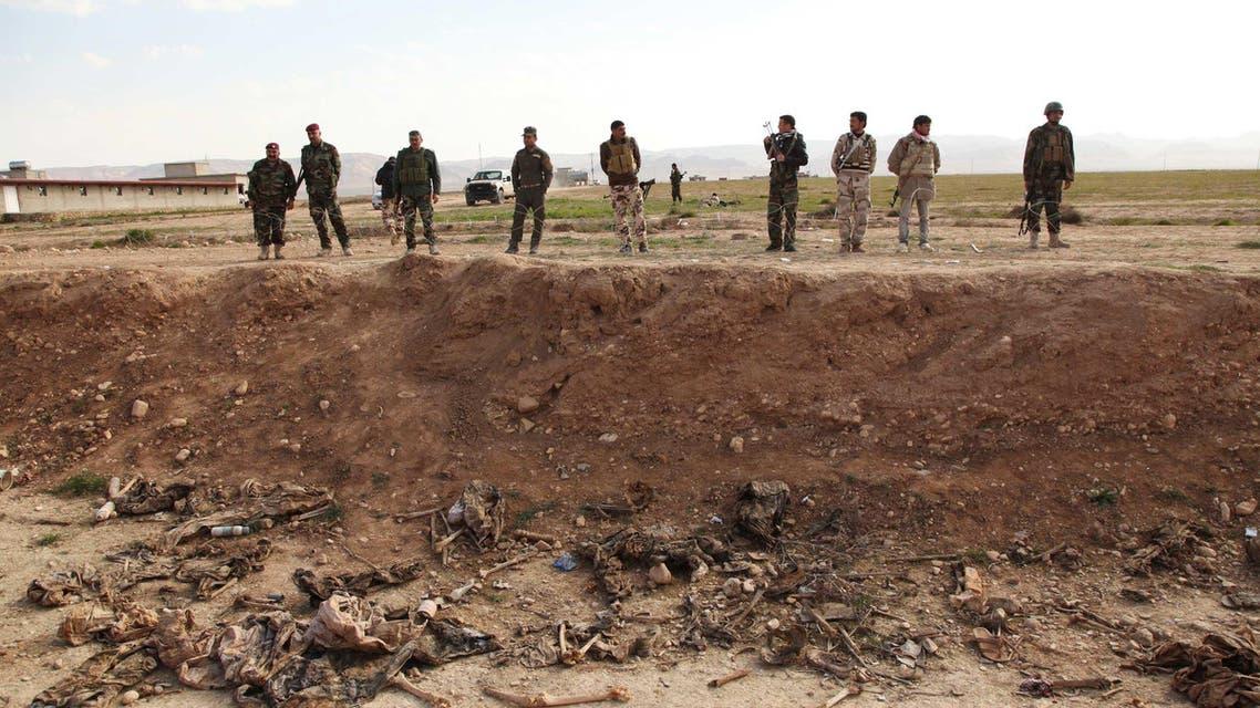مقبر جماعية في سنجار إيزيدية
