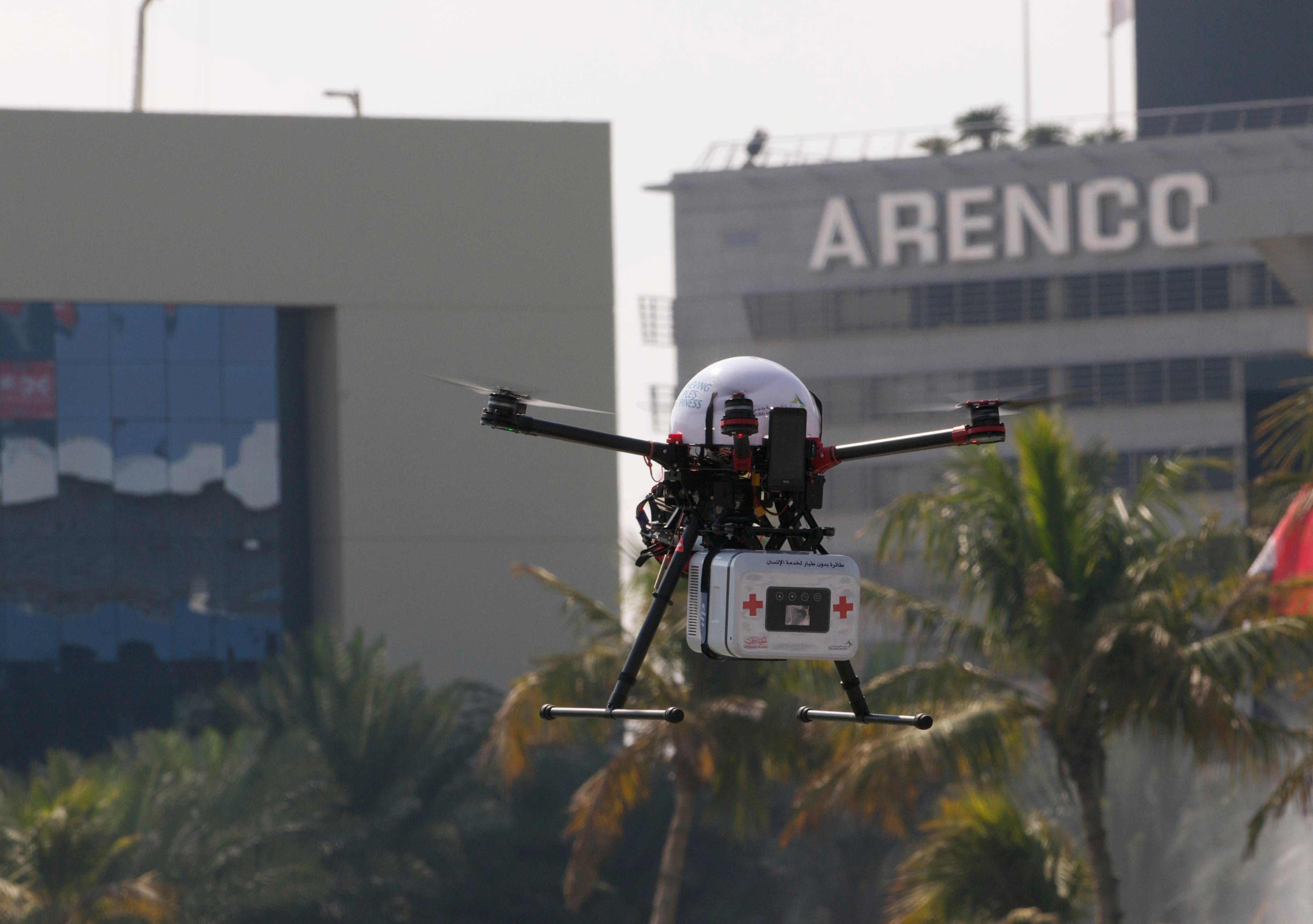 Drones For Good (Peter Harisson/ Al Arabiya News)