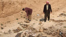 Iraq to identify remains from ISIS graves in Yazidi area
