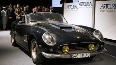 "بيع ""فيراري"" آلان دولون بـ14.2 مليون يورو في باريس"