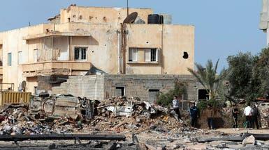مقتل 4 أشخاص بانفجار عبوة ناسفة أمام مستشفى في بنغازي