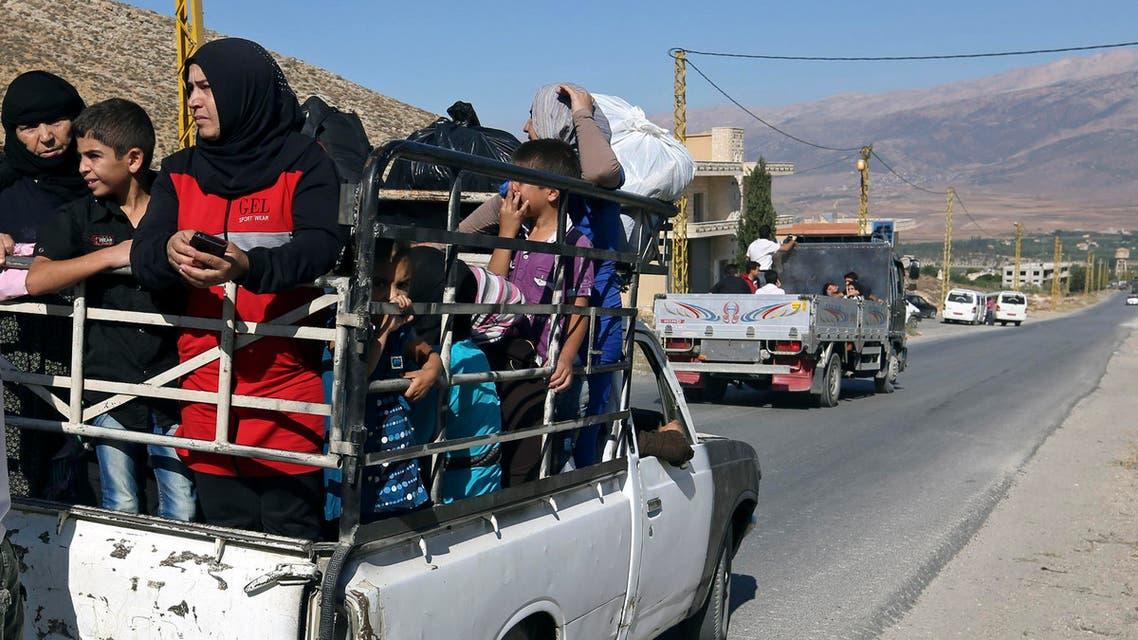 Arsal residents flee AP
