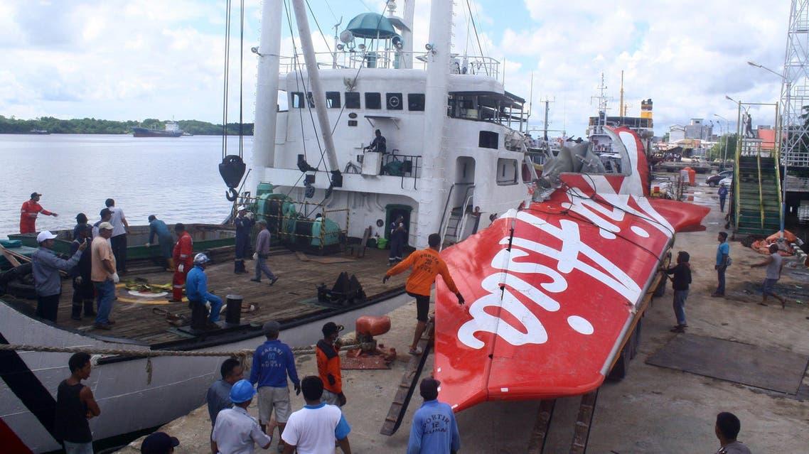 AirAsia wreckage AFP