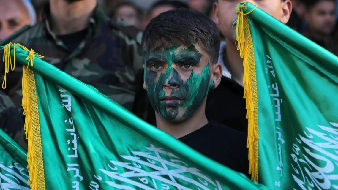 Hamas supporters AFP