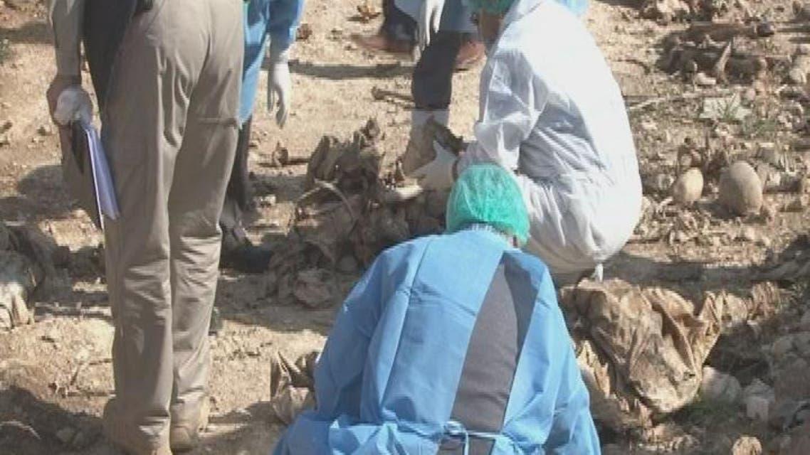THUMBNAIL_ العثور على مقبرة جماعية في سنجار غرب الموصل