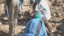مقبرة جماعية تضم أكثر من 100 إيزيدي في #سنجار