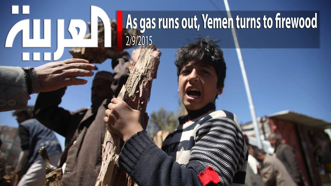 As gas runs out, Yemen turns to firewood