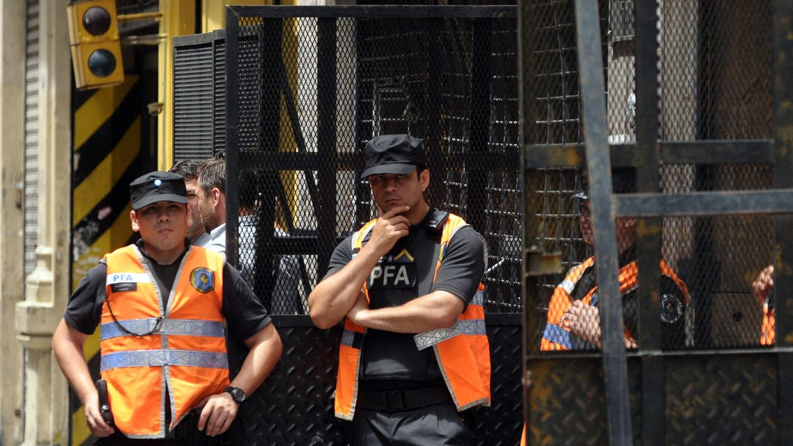 Argentine Police Alberto Nisma AFP