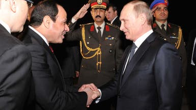 """السيسي يستقبل بوتين.. و""""سوريا"""" على رأس المباحثات"""