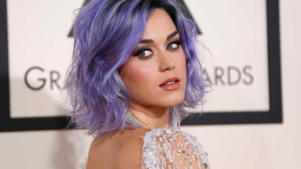 Singer Katy Perry arrives at the 57th annual Grammy Awards in Los Angeles, California February 8, 2015. (Reuters)