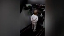 Controversial video shows toddler forced to run on treadmill
