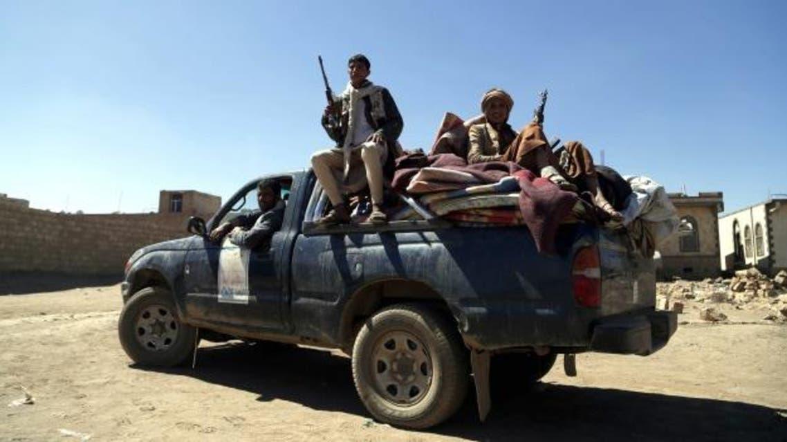 عناصر من الحوثيين في البيضاء (أرشيفية)