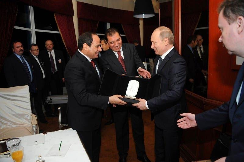 Putin visits Egypt