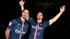 Ibrahimovic jokes about replacing Eiffel Tower with statue of himself