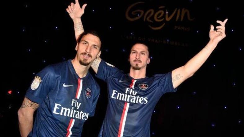 Ibrahimovic jokes about replacing Eiffel Tower with statue
