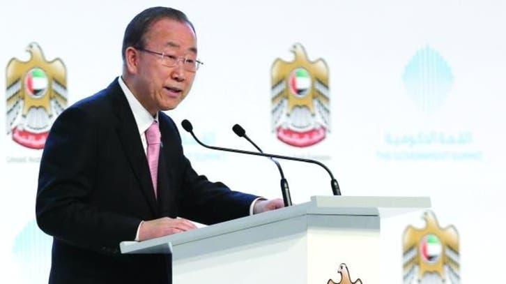 بان كي مون: على دول العالم تحفيز نمو القطاع الخاص