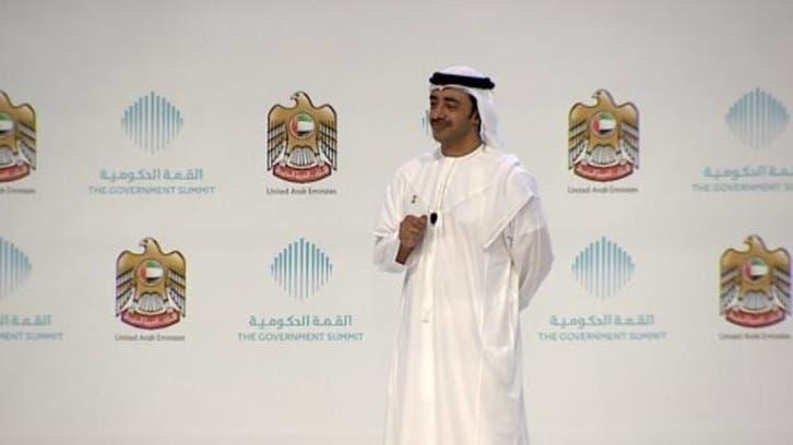 عبدالله بن زايد: استقرار الخليج أساسه الاستقرار بمصر