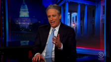 Watch Jon Stewart announcing his departure from The Daily Show