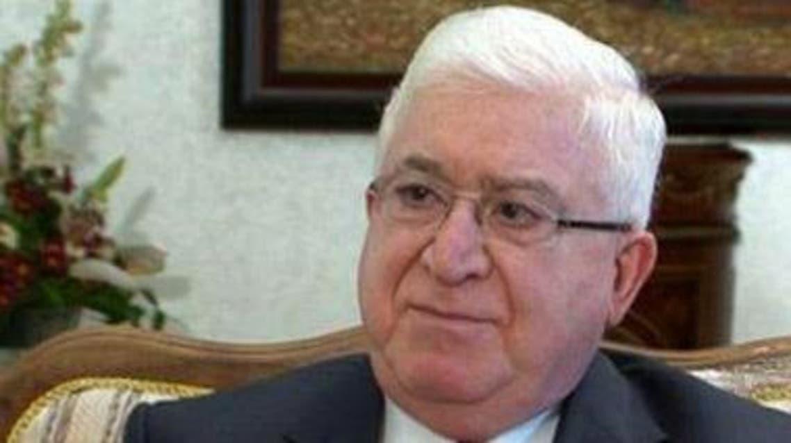 رئيس الجمهورية العراقية فؤاد معصوم