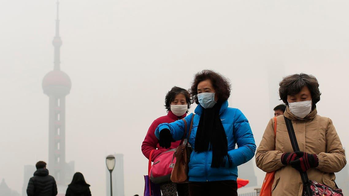 التلوث في الصين