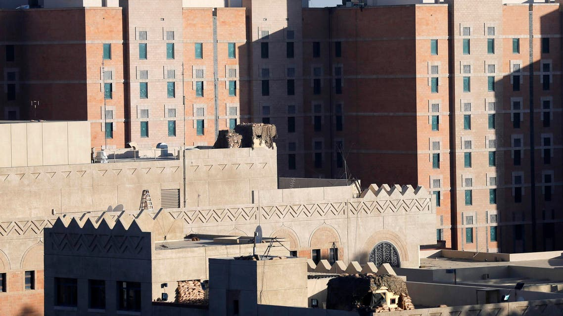 A general view of the U.S. embassy in Sanaa Feb. 11, 2015. The United States closed its embassy in Yemen, the Arabian peninsula state that is a front line in Washington's war against al-Qaeda, embassy employees and U.S. officials said on Tuesday.  (Reuters)