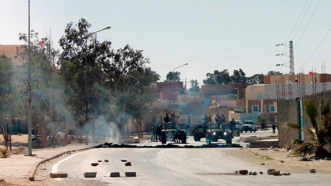 احتجاجات جنوب تونس