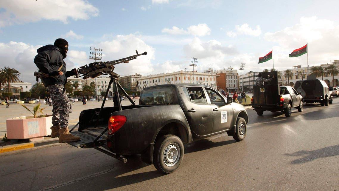 Libyan police in Tripoli ahead of UN talks Reuters