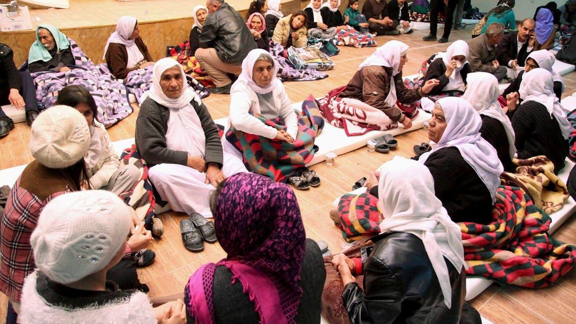 لاجئون أيزيديون أزيدي أيزيدي إيزيدي إزيدي