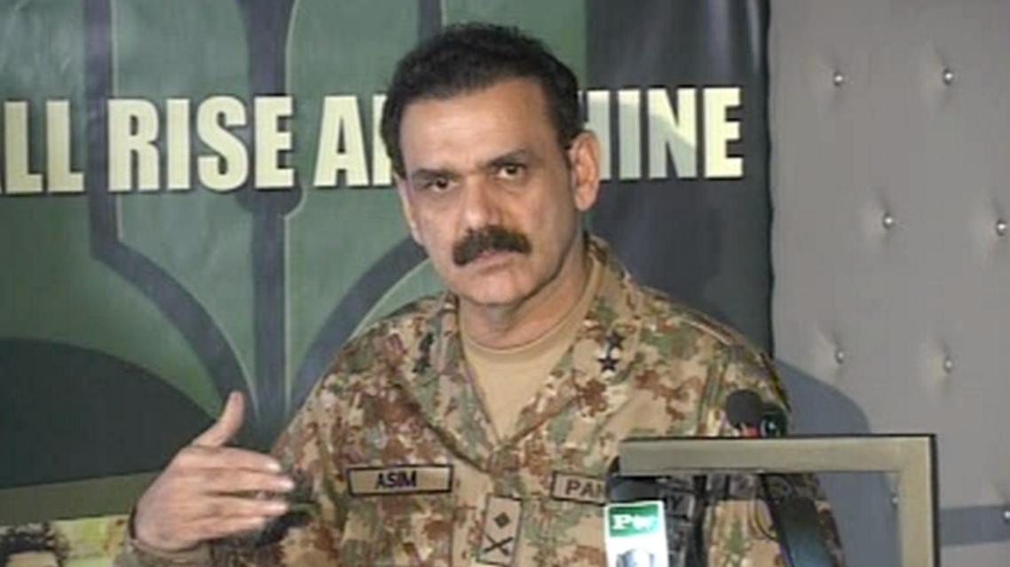 المتحدث باسم الجيش الباكستاني اللواء عاصم باجوه