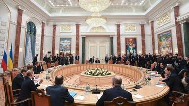 روسيا تعلن توقيع خارطة طريق لإنهاء أزمة أوكرانيا