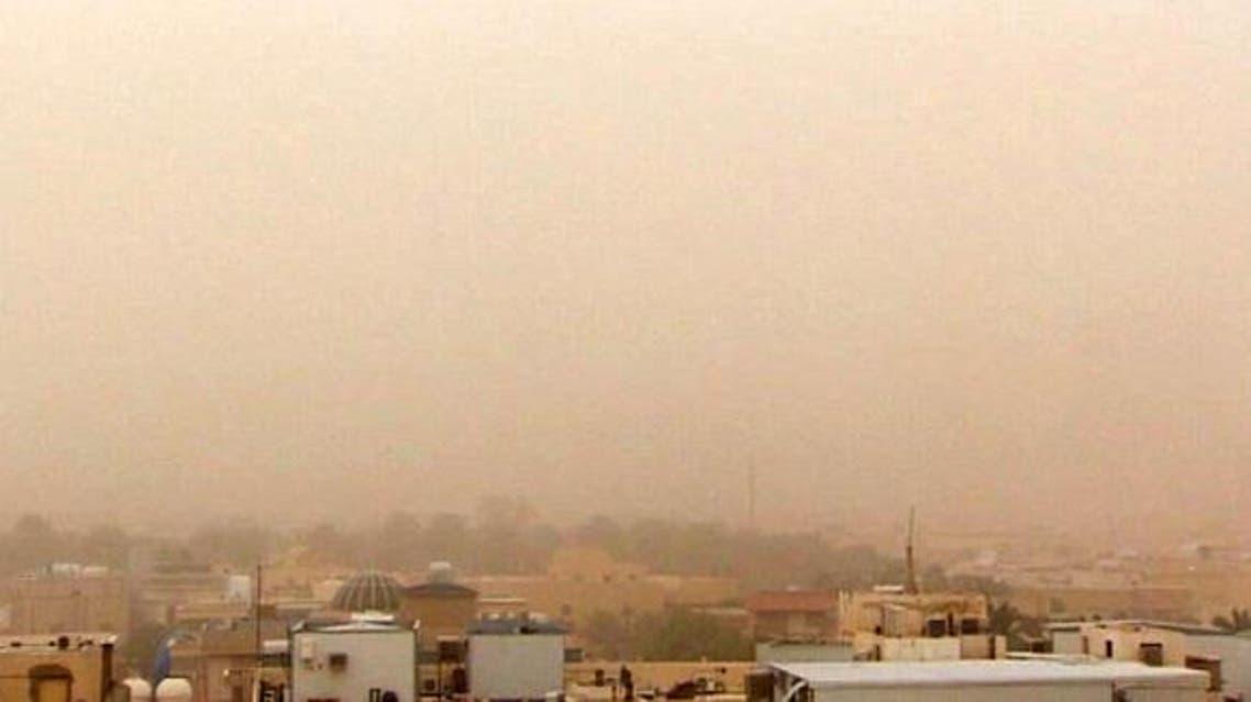 موجة غبار في السعودية