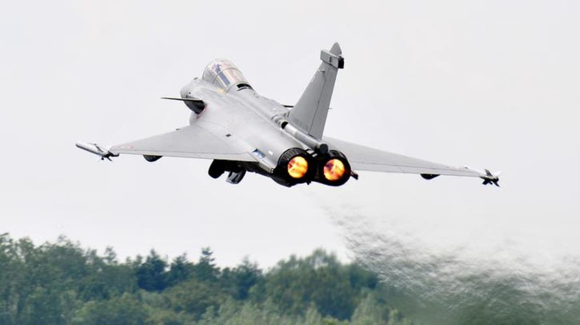 French Air Force Rafale seen at a UK airshow. (Shutterstock)