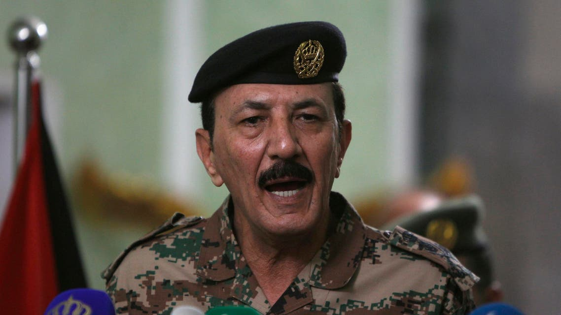 Jordanian Armed Forces Chief of Staff General Mashal Al Zaben speaks during a news conference at the Defence Ministry in Baghdad February 11, 2015. (File photo: Reuters)