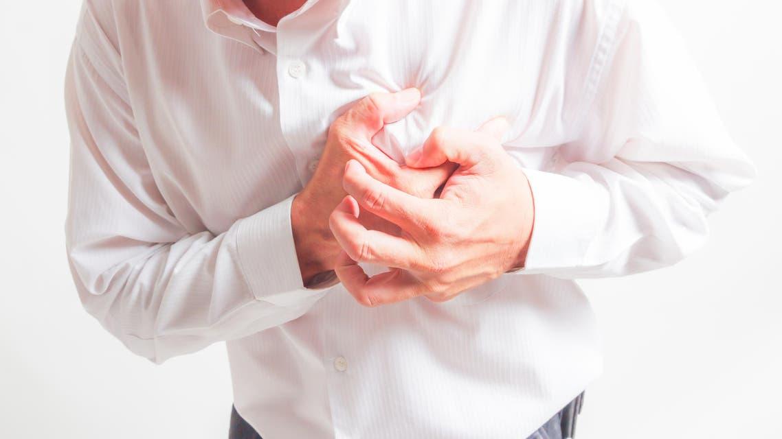 heart attack shutterstock