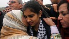 Palestinian schoolgirl freed after six weeks in Israeli jail