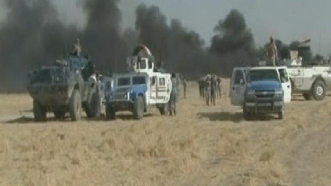 THUMBNAIL_ خمس تفجيرات انتحارية داخل قاعدة عين الأسد