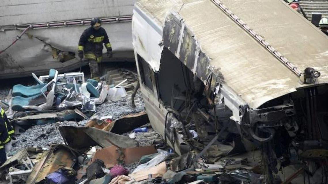 حادث قطار في المكسيك
