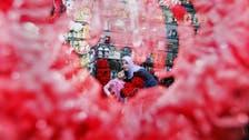Valentine's Day in Iraq: Baghdad turns red, Najaf shuns it