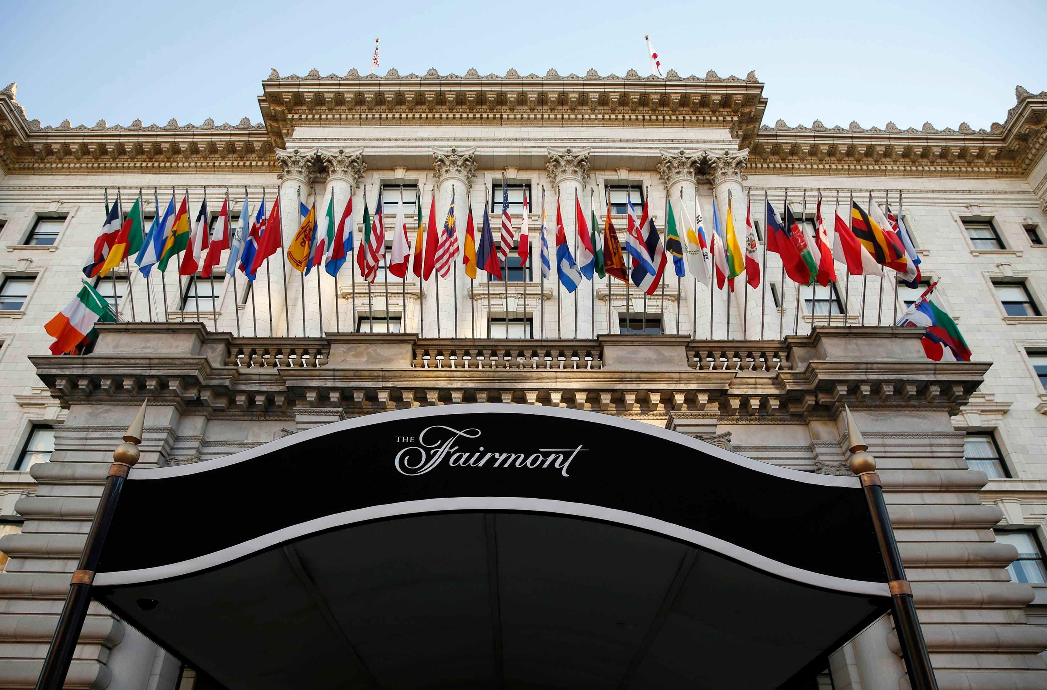 Fairmont Hotel San Francisco Reuters