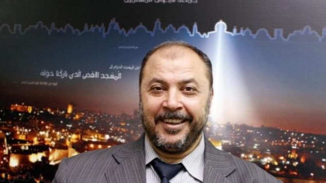 Muslim Brotherhood deputy secretary-general Zaki Bani Irsheid during an interview with the Associated Press, July 21, 2012 (photo credit: AP/Raad Adayleh)