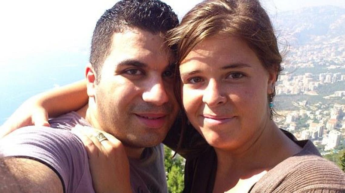 Omar al-Khani and Kayla Mueller pose in this picture believed to have been taken in Lebanon in 2012. (Photo courtesy: Facebook)