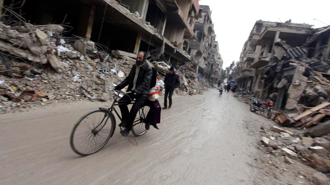 Douma Damascus Syria Reuters