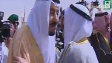 1300GMT: Emir of Kuwait arrives in Riyadh
