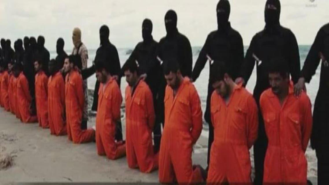 THUMBNAIL_ مختصر فيديو إعدام داعش للمصريين الأقباط في ليبيا