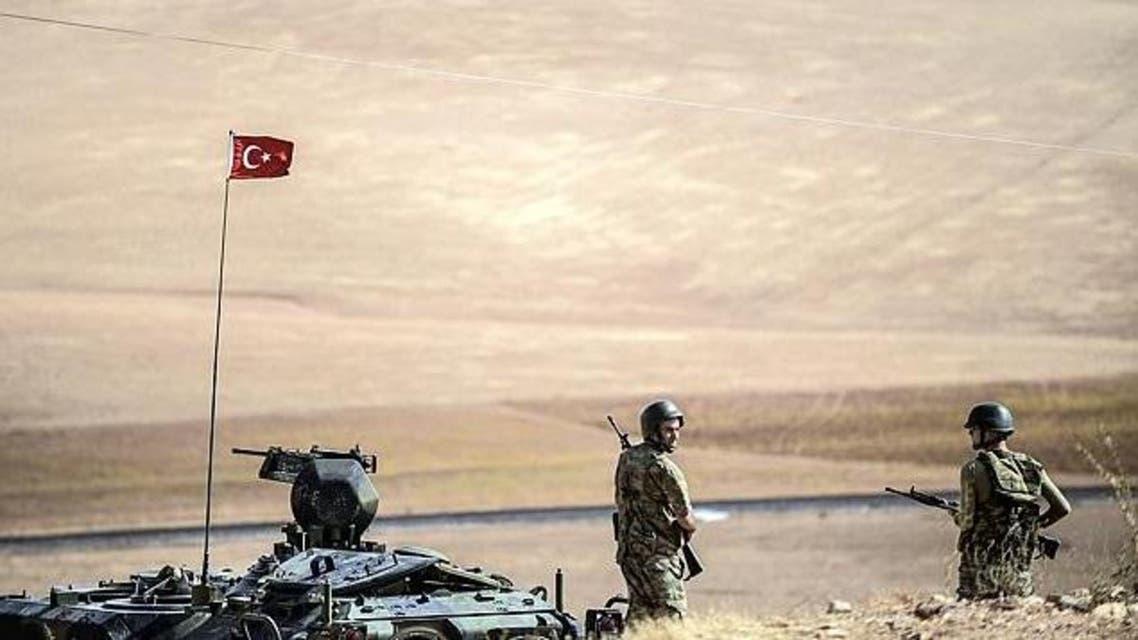 حدود تركيا سوريا