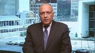 وزير خارجية مصر: الغارات في ليبيا دفاع عن النفس